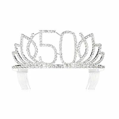 50th Birthday Tiaras and Crowns Anniversary For Queen 50th Birthday Party