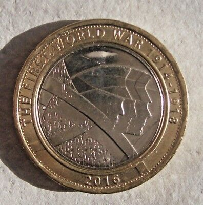 The Army - FIRST WORLD WAR WWI  1914 -1918 - 2016 UK £2 / Two Pound Coin -RARE.