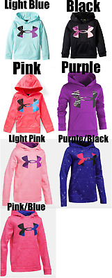 New Under Armour Girls Big Logo Hoodie Sweatshirt MSRP $39.99