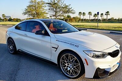 2017 BMW M4 Base Coupe 2-Door 2017 BMW M4 COMPETITION PACKAGE FULL LOADED IMMACULATE CONDITION JUST 4000 MILES