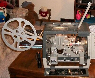 Vintage Bell and Howell Filmosound  399 16mm Film Projector - Works!
