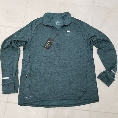 e9195a84 Nike Therma Sphere Element Men's Long Sleeve Half-Zip Running Top Size  X-Large