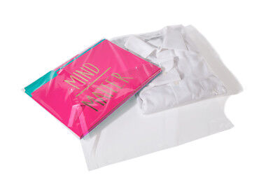 """10x13"""" Clear Resealable Recloseable Self Adhesive Lip and Tape Poly Cello Bags"""