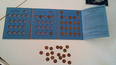 Whitman Folder 9062 Canadian Small Cent Collection 1920-1972 #1 Partialyl filled