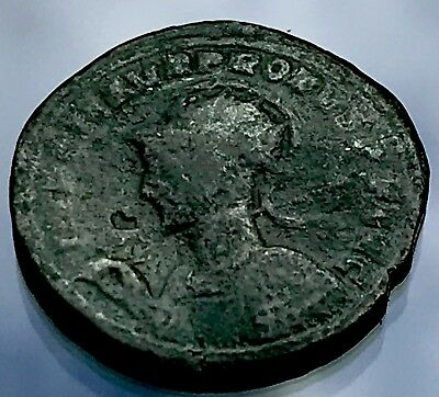 Interesting Possibly Hadrian Ancient Roman Coin Needs Cleaning FreeUKP&P