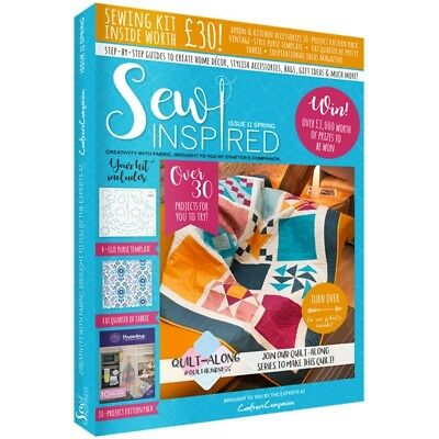 Sew Inspired Magazine Issue 11 Free Sewing Pattern Fat Quarter Purse Template