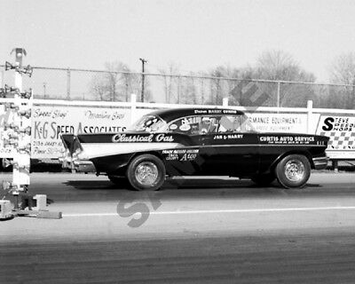 """Classical Gas 1957 '57 Chevy Gasser Dragster Drag Racing 8""""x 10"""" Photo 396"""