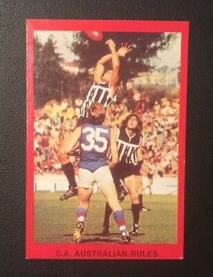Port Adelaide Magpies Sanfl Vfl Footy Card 1973 Central Districts Sunblest