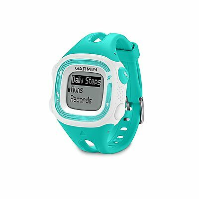 Garmin Forerunner 15 Teal/White GPS Running Watch | 010-01241-21 | BRAND NEW!