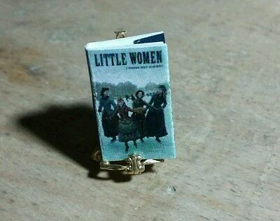 Miniature Doll House Book Little Women small