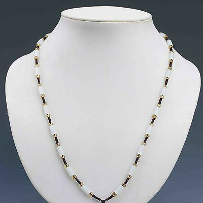 Beautiful Chinese Natural Handcraft  Jade Necklaces G895