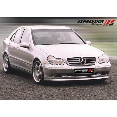 Mercedes Front Lip Spoiler,Expression, 203 Chassis, 2001-2006 70-225359-1