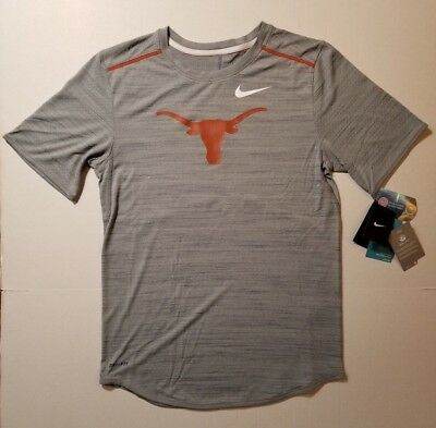 6df73127 Nike Dri Fit Men's Texas Longhorns Short Sleeve T-Shirt SM XL & XXL NWT