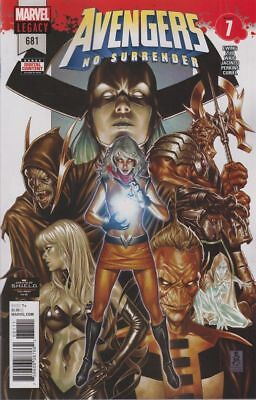 Avengers #681 Legacy No  Surrender  1St  Print  Cover  A