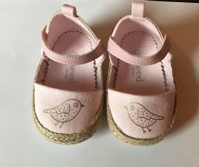Seed Heritage Baby Girl Bird Mary Jane Size 3-6 Months RRP$39.95