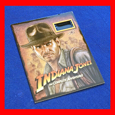 Indiana Jones Raiders of the Lost Ark - 35mm Souvenir Film Cell - Harrison Ford