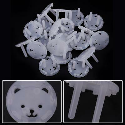 20pcs EU Power Socket Outlet Plug Protective Cover Baby Child Safety Protector