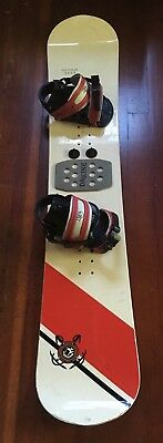 a7995cb4faa VINTAGE AVALANCHE SNOWBOARD With K2 Bindings -  29.00