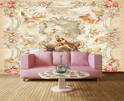 Fragrant Pulpy Lily 3D Full Wall Mural Photo Wallpaper Printing Home Kids Decor
