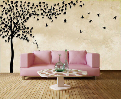 Numerous Pulpy Birds 3D Full Wall Mural Photo Wallpaper Printing Home Kids Decor