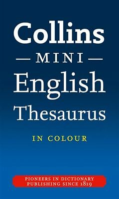 Collins Mini Thesaurus [4th Edition] by Dictionaries Collins - Paperback - NEW