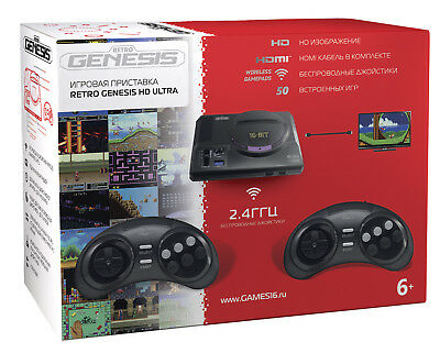 SEGA Retro Genesis HD Ultra Game Console HDMI  + 50 Games