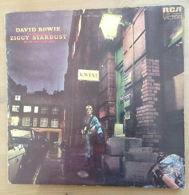DAVID BOWIE The Rise And Fall Of Ziggy Stardust 1972 UK VINYL LP