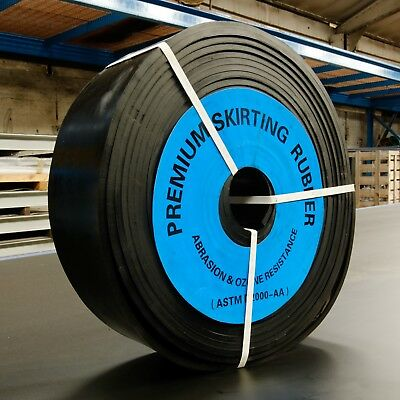 Conveyor Belt Skirting Rubber 20 Meters X 100Mm Wide X 10Mm Thick