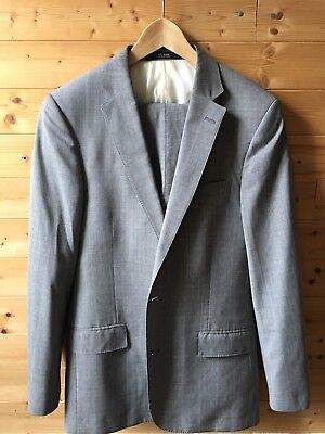 Todd Snyder Gray Sutton Suit Wool southwick USA 35R 34R 36R blazer supply