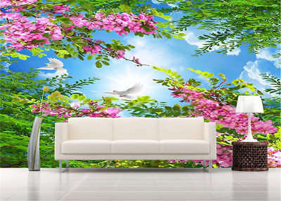 Warm Frugal Spring 3D Full Wall Mural Photo Wallpaper Printing Home Kids Decor