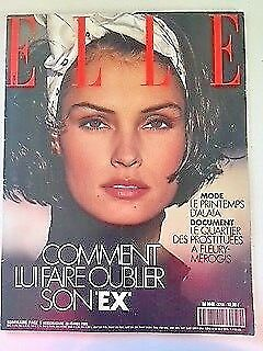 'elle' French Vintage Magazine 20 February 1989