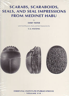 SCARABS, SCARABOIDS, SEALS, AND SEAL IMPRESSIONS FROM MEDINET HABU . New HC.