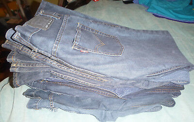 Levis 511 550 527 505 Jeans All In Near Mint Condition Some New Denim Lot of 11
