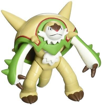 """Takaratomy Official Genuine Pokemon X and Y SP 07 2.5"""" Chesnaught Action Figure"""