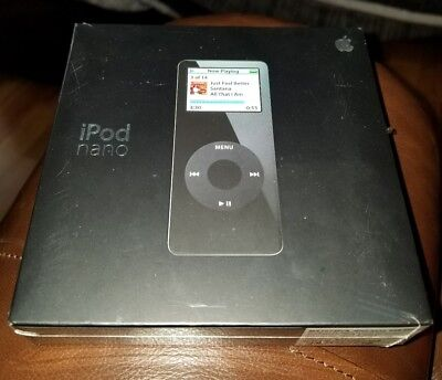 Apple iPod Nano 1st Gen., (Black) 4GB, NEW, SEALED