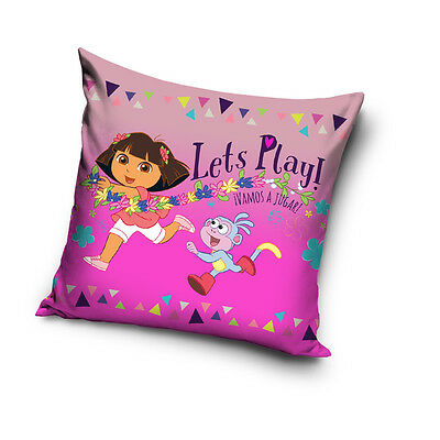 NEW Dora & Boots cushion cover 40 x 40 cm 100% COTTON pillow cover 05
