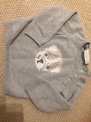 Little White company baby boys jumper 9-12 months