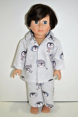 American Girl Doll Our Generation Journey  Gotz 18 Dolls Clothes Winter Pj's