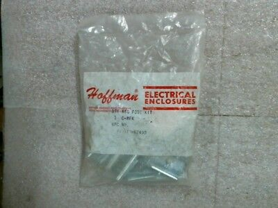 FACTORY SEALED Hoffman C-MFK Steel Mounting Foot Bracket Kit - 60 day warranty