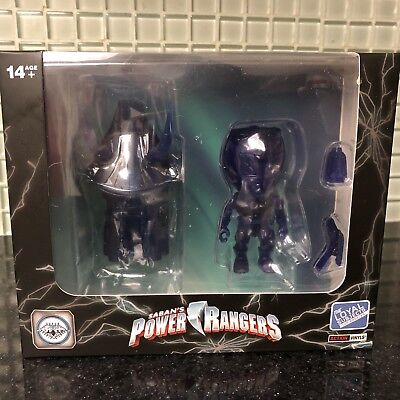 The Loyal Subjects Super Double Diamond Club Blue Ranger And Zord.