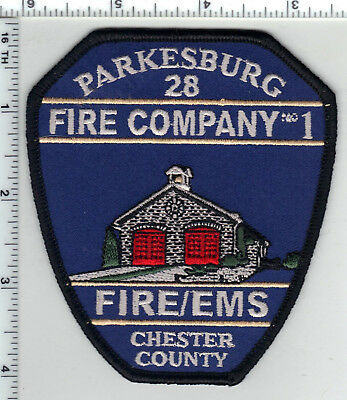 Parkesburg 28 Fire Company No 1 (Pennsylvania) Fire/EMS Shoulder Patch - new