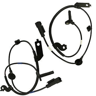 Front Right & Left Set Wheel Speed Sensor 2 ABS For Mitsubishi Outlander Lancer