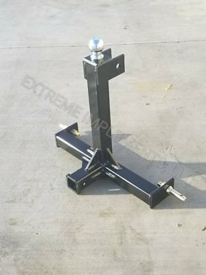 3 point hitch--trailer mover--gooseneck ball 2 5/16""
