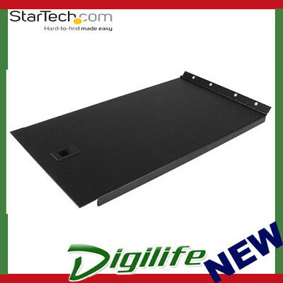 StarTech Solid Blank Panel with Hinge for Server Racks - 6U RKPNLHS6U