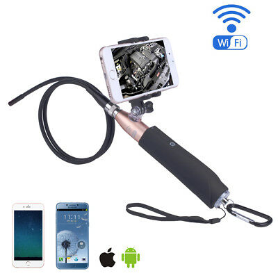Newest ! WIFI Handheld Endoscope Waterproof Inspection Rigid Boroscope HD Camera