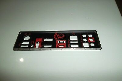 MSI  GAMING I/O  Shield Back Plate Panel for E21-7A78010 - C22 Motherboard