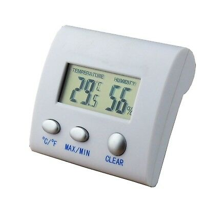 Digital LCD Thermometer Hygrometer Moisture Meter Humidity Tester