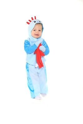 Iggle Piggle In The Night Garden Fancy Dress Costume 1/3 Years Tv Book