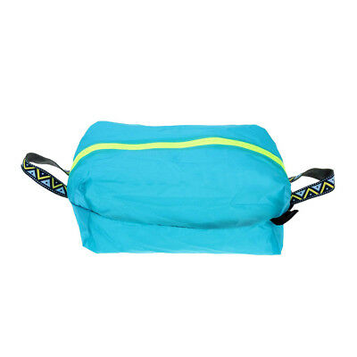 Travel Hanging Bag Pouch Shoe Sports Gym Beach Luggage Organiser M Blue