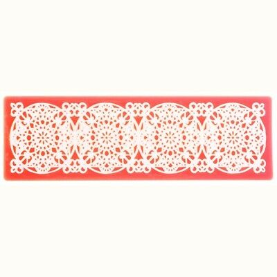 Stampo Rosso Per Decorare Torte Parigi Sweet Lace Express Cake Design